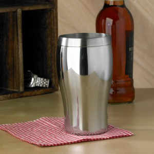 Personalised Pint Glass Shaped Tankard