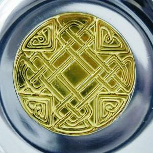 Celtic Detail Lidded Tankard